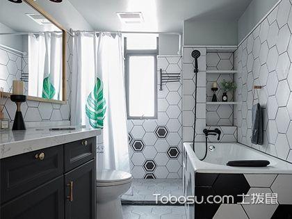 最流行卫生间干湿分离设计,五款简约卫生间装修案例