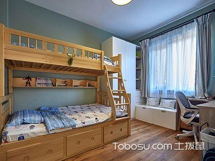 2017最新小户型儿童房实用上下床,再也不用担心两个孩子的问题