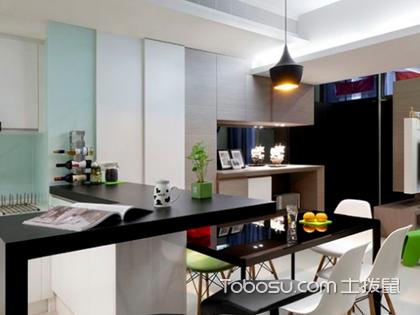 开放式厨房吧台尺寸有哪些?开放式厨房吧台设计注意事项盘点