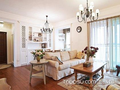 90平婚房装修预算案例,带你感受浓浓的美式风情
