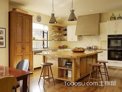 开放式厨房收纳技巧,让厨房整洁干净