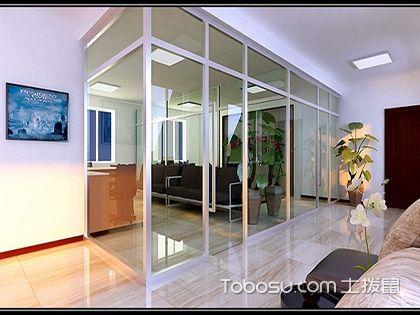 最新客厅玻璃隔断效果图,更显纯净透彻