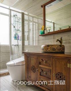 2017大户型主卫浴室装修效果图,卫浴间装修案例