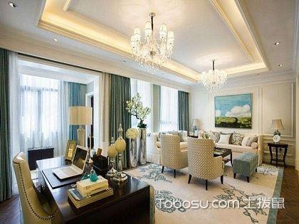 客厅兼书房该如何设计?客厅兼书房设计方法