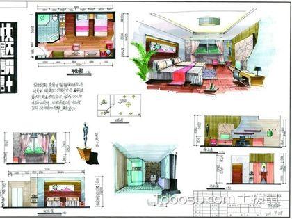 快题设计室内,室内设计快题方法和技巧