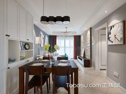 89平现代美式装修图,打造三居室的温馨之家