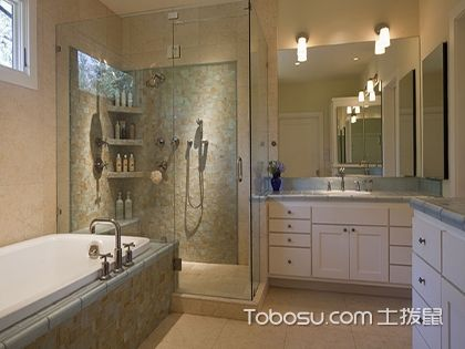 小户型浴室置物架效果图,小面积我有妙招