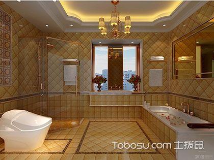 最新欧式别墅浴室装修效果图,欧式风格大欣赏