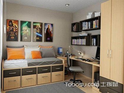 男生房间装饰设计案例,男生卧室怎么装修比较好看?