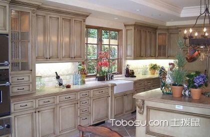 最新田园风格开放式厨房装修图片,开放式厨房装修