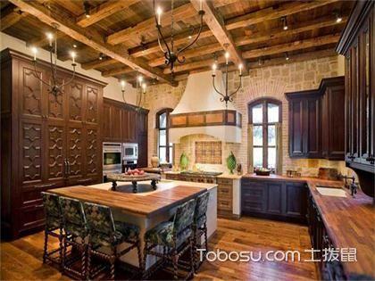 最新美式厨房吊顶装修效果图,让你的厨房与众不同