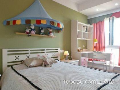 儿童房装修马虎不得,合理装修给孩子一个舒适的小窝