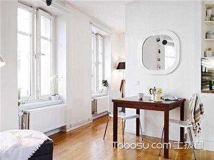 55平米小户型简单装修,一室两厅还有大空间!