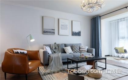 45平米小戶型隔斷一室變兩室,一分為二的家更有魅力
