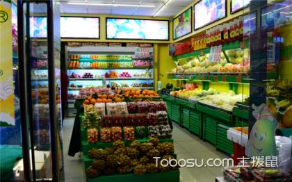30平方小型水果店裝修效果圖,教你小型水果店怎樣裝修設計