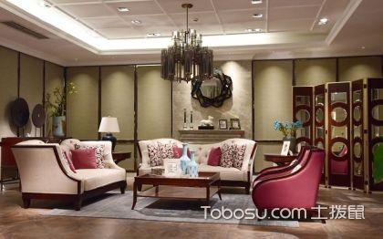 大户型中式客厅布置讲究,中式装修案例