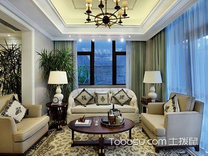 看完这6款欧式客厅样板房,轻松搞定欧式装修风格