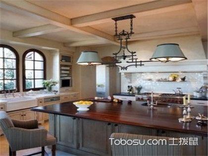 厨房岛台怎么设计才美观?这三种厨房岛台设计不可错过!