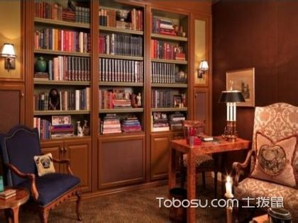 书房也可以别具一格,给你不一样的书房设计风格
