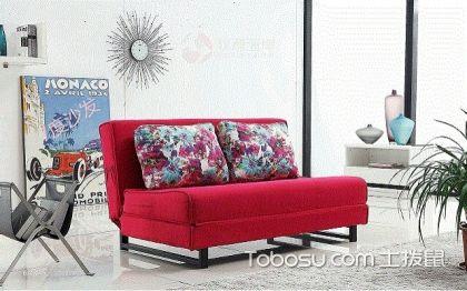 折叠沙发床图片怎么搭配,款式多使用方便