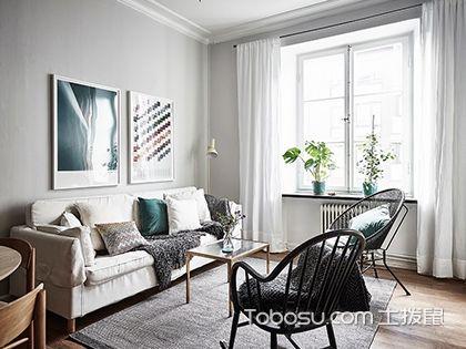 55平米小户型北欧装修图,打造出简洁的温馨空间