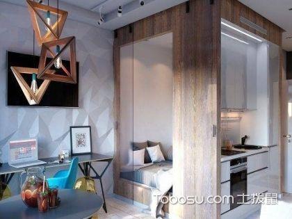 小而精煉的40平米一室戶裝修,讓你裝修不再發愁
