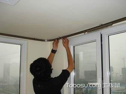窗帘杆分类、选购技巧以及安装注意事项攻略