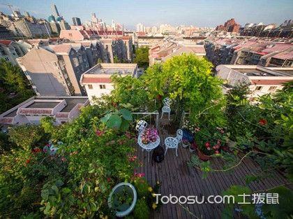 楼顶空中花园设计的原则是什么?空中花园设计技巧