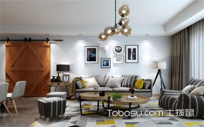 北京65平米房装修预算,现代简约风带给你格调生活