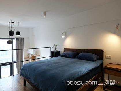 50平米小户型装修效果图,打造温馨气质的loft单身公寓