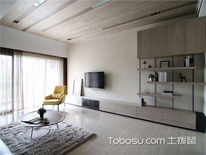 50平米小戶型簡約裝修案例賞析,一室兩廳裝修將簡約進行到底