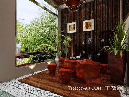 古朴对饮茶室,中国风韵装饰