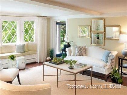客厅落地飘窗设计方案,装修客厅的你一定不能错过!