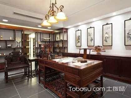 中式书房设计风格要素说明,教你装修中式书房