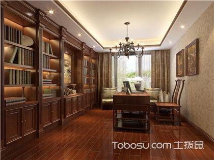 中式风格书房装修实景图,带你走进充满书香气息的古典书房!