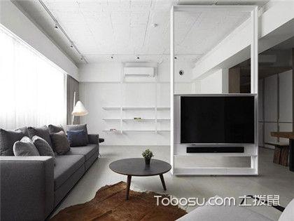 小户型旧房改造案例分析,60平简约风格装修之老房翻新