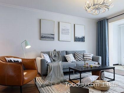 120平北欧U乐国际三室两厅案例,年轻人喜爱的高颜值简洁三居