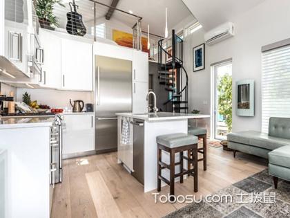 小平米开放式厨房设计图片,带你走进小厨房的设计乐趣