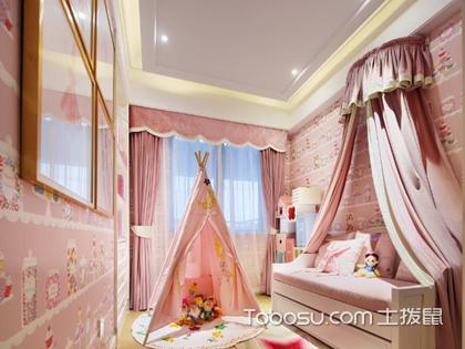 一波超美的女孩兒童房窗簾圖片,讓窗簾成為房間最美的一道風景
