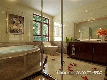 卫生间干湿分离用浴帘还是玻璃隔断好,设计合理才最关键!