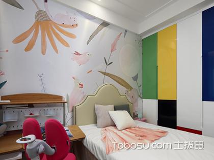 儿童卧室背景墙设计图片,儿童卧室美不美关键看背景设计