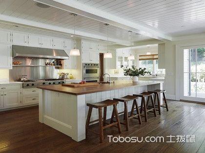 厨房岛台作用是什么?厨房中安置岛台有哪些好处和弊端?