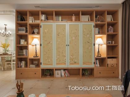 书柜书架设计怎么做?全新设计实景图纸供你参考