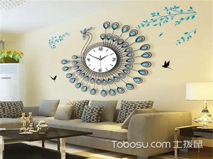 欧式客厅挂钟装饰图片,欧式客厅挂钟摆放设计