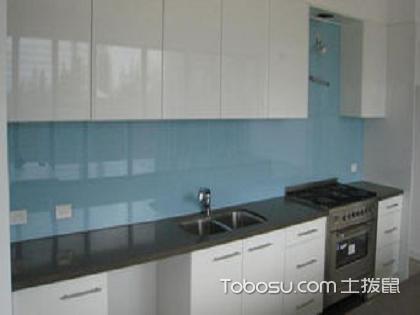 烤漆玻璃,用于厨房等墙面装饰真的会大大提高清理效率