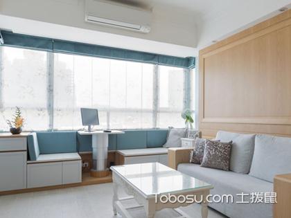 客厅有飘窗如何装修呢?给你介绍飘窗设计新操作