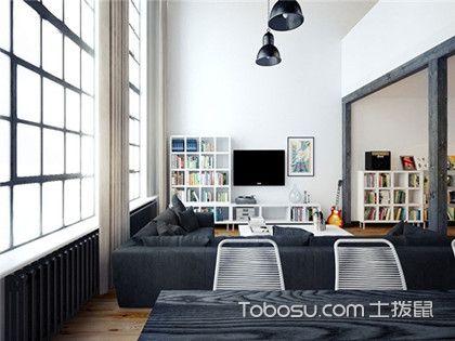 北京loft户型装修,75平小户型loft装修效果图欣赏图片