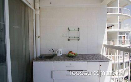 1米宽小阳台改厨房图,厨房改造装修图片