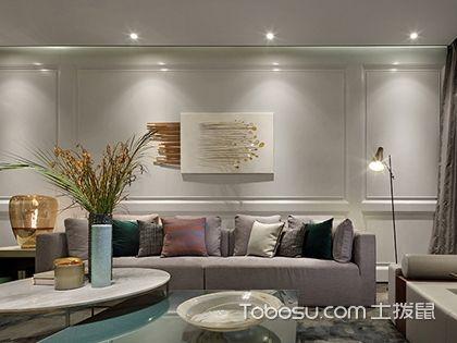 现代简约客厅沙发挂画有什么讲究?附现代简约客厅沙发挂画图