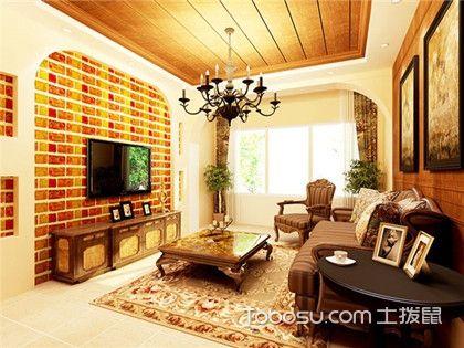 简约风格电视背景墙,四款电视背景墙设计展现简约美